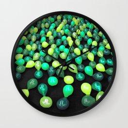 Preserve Green Wall Clock