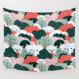 The Vegetable Lamb of Tartary Wall Tapestry