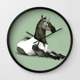 Cavallo offeso Wall Clock