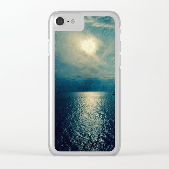 Sea of Dreams II Clear iPhone Case