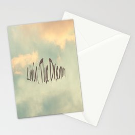 Livin The Dream Stationery Cards