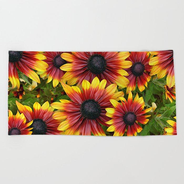 Flowerfeeling Beach Towel
