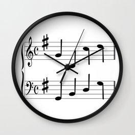 Music Chord Wall Clock