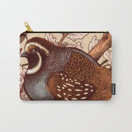 Little Quail Carry-All Pouch