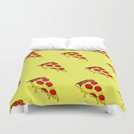 Pizza Pattern Duvet Cover