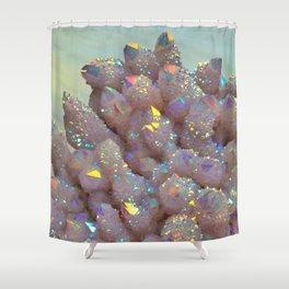 Angel Aura Spirit Quartz crystal Shower Curtain