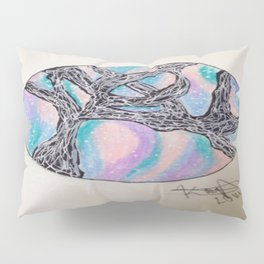 Galaxy Tree Pillow Sham