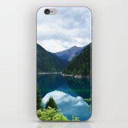 长海 // Long Lake, Jiuzhaigou iPhone Skin
