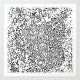 MMav Pillow 3. Art Print