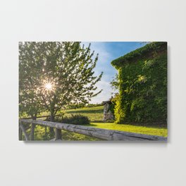 Abandoned farm in the countryside of Italy Metal Print