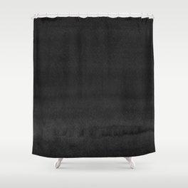 Black Ink Art No 3 Shower Curtain