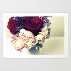 Pink, Red & Purple Art Print