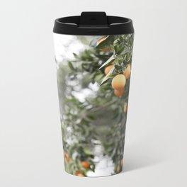 Ojai Oranges Metal Travel Mug
