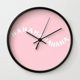 hahahahahahaha Wall Clock