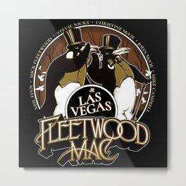 fleetwood black rumours vegas tour 2020 ngaprilio Metal Print