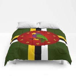 Dominica Flag Comforters