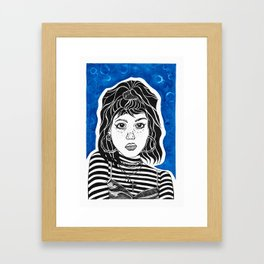 The Blues Framed Art Print