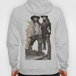 Black and White Collage Hoody