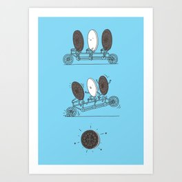 Accidentally Tasty Art Print