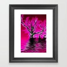 Rising from the depths Framed Art Print