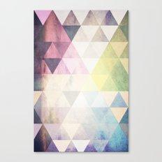 Geometric Groove Canvas Print