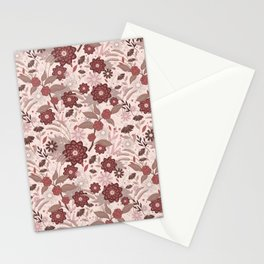 Monochrome Blooms Stationery Cards