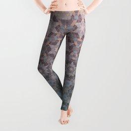 Honeycomb pattern Leggings