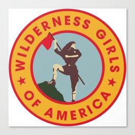 Wilderness Girls of America Canvas Print
