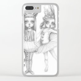 Erin and Ella Clear iPhone Case