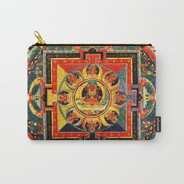 Mandala Buddhist 4 Carry-All Pouch