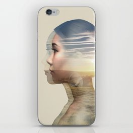 Weightlessness iPhone Skin