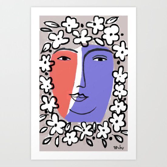 Goddess of Spring Art Print