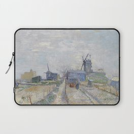 Montmartre - Windmills and Allotments by Vincent van Gogh Laptop Sleeve