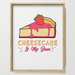 Cheesecake Is My Jam Strawberry Cream Cheese Cracker Pastry Serving Tray