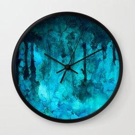 Cenote Wall Clock