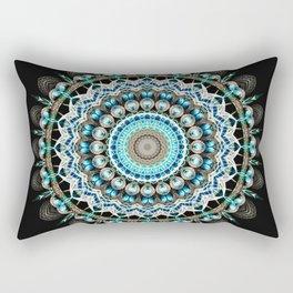 Mandala antique jewelry Rectangular Pillow