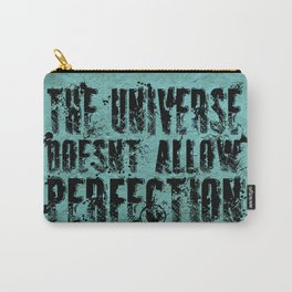 Stephen Hawking on Perfection Carry-All Pouch