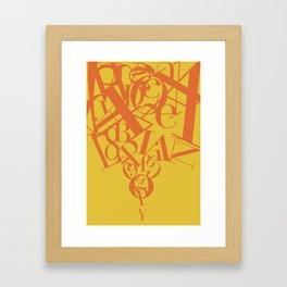 Congestion Framed Art Print