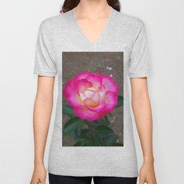 Floral Print 109 Unisex V-Neck