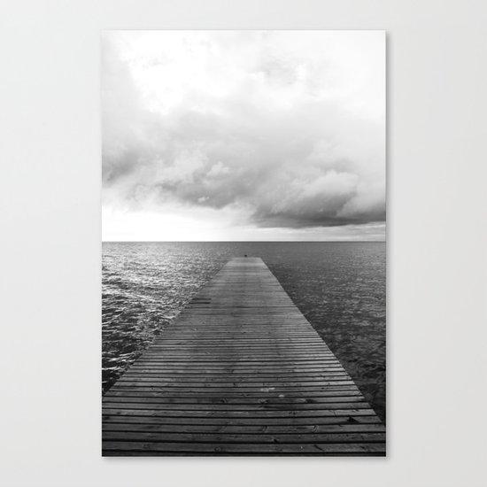 Seebrücke Canvas Print