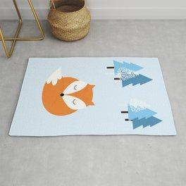 Sweet dreams with fox Rug