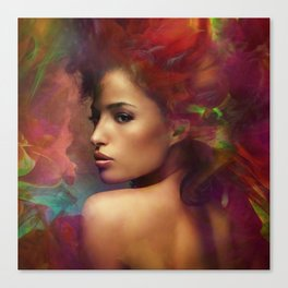 fantasy woman sensation Canvas Print