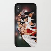 cartoons iPhone & iPod Cases featuring Cute Celebrity Selfie Photo Cartoons iPhone 4 4s 5 5s 5c, ipod, ipad, pillow case and tshirt by Three Second