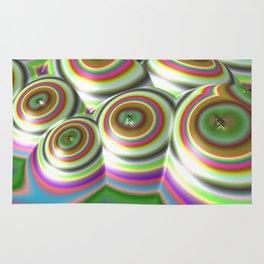Candylands (3D Digital Fractal Art) Rug