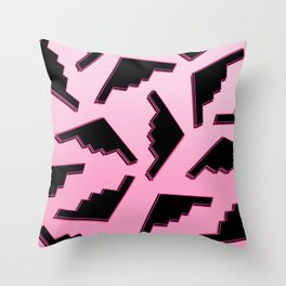 Death From Above Throw Pillow