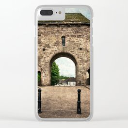 The Bridge At Monmouth Clear iPhone Case