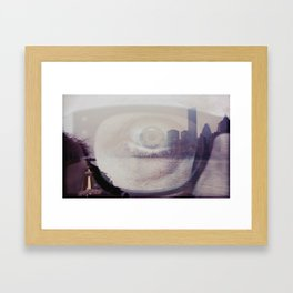 i line nyc... Framed Art Print
