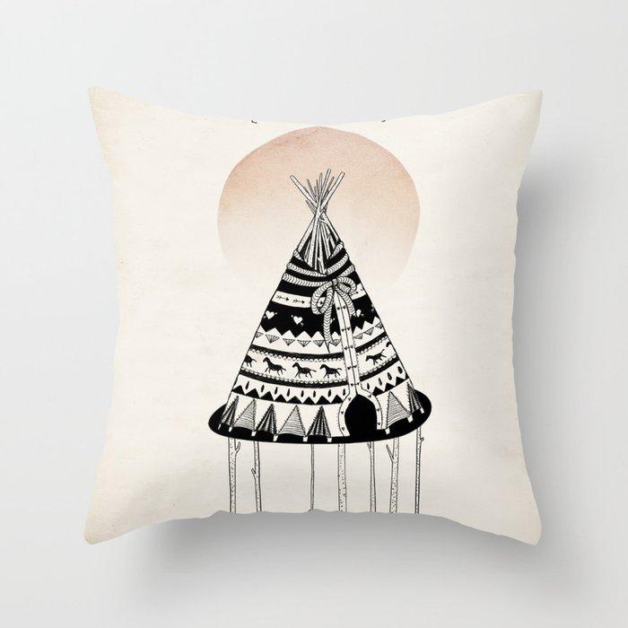 Fancy Living Throw Pillow