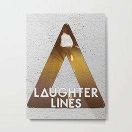 Bastille #1 Laughter Lines Metal Print