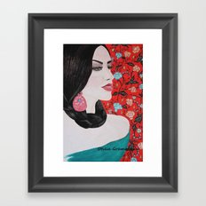 Spanish Dreaming Framed Art Print